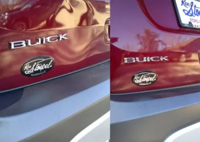 Before and After Buick Repair