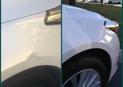 Before and After Hood Repair